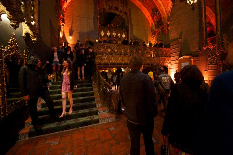 dracula and an opera party at ace hotel