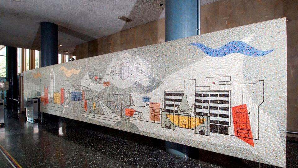Prominent Mural Removed From Parker Center