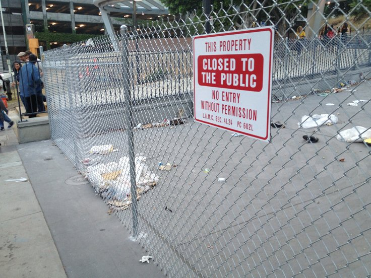 Fencing Fourth and Hill and Angels Knoll Was a Dumb Decision