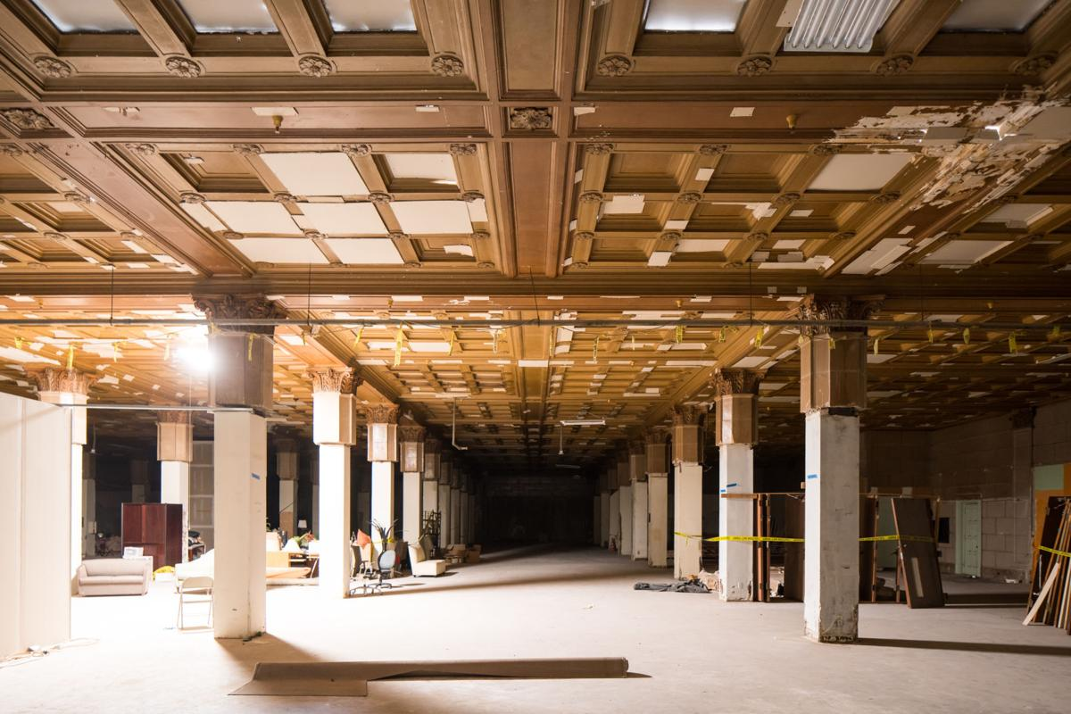 Underground Building Underground Retail And Office Space Planned At Subway Terminal