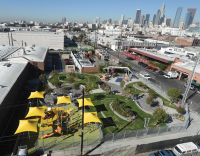 Long-Awaited Arts District Park Opens Tomorrow