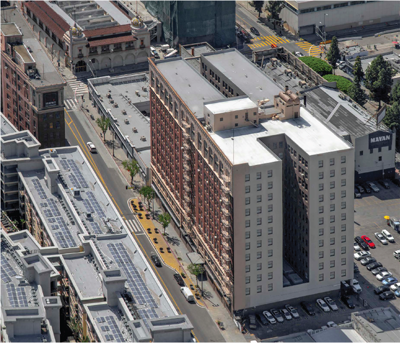Broadway Building Becoming Office Space
