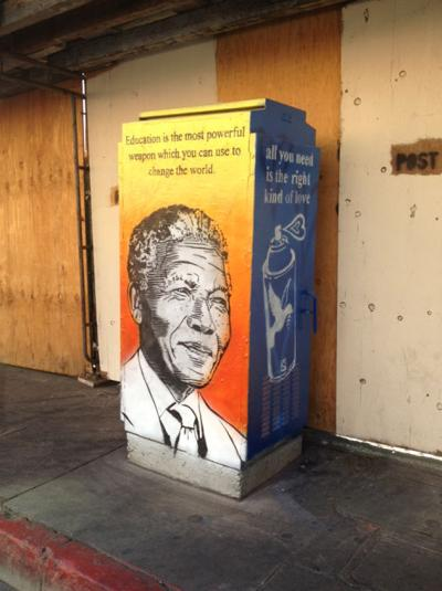 Utility Boxes Get the Artistic Treatment
