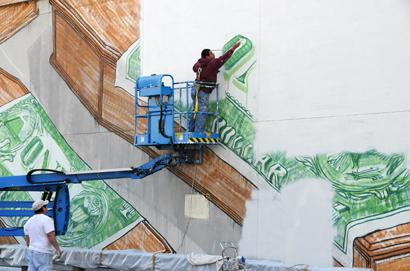 MOCA Commissions Mural, Then Whitewashes It