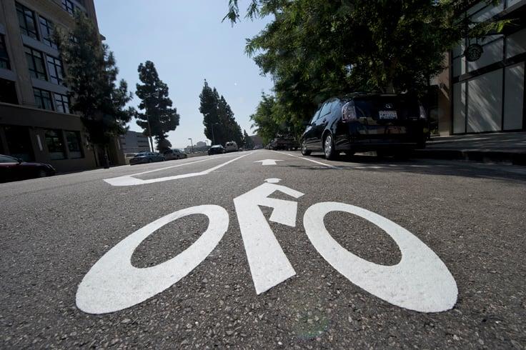 Grand Avenue Bike Lane