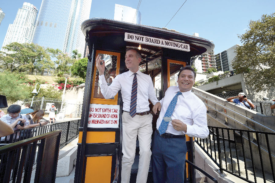 Historic Angels Flight Railway Reopens