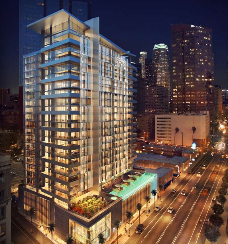 New residential high rise proposed for city west news for La downtown condo for sale
