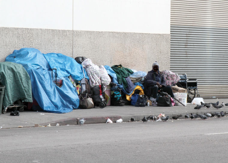 As El Nino Approaches, Concern Rises on Skid Row