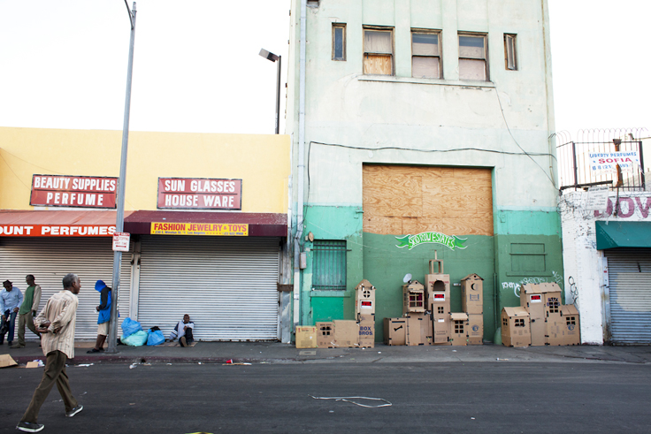 Design Workshops to Boost Aesthetics in Skid Row