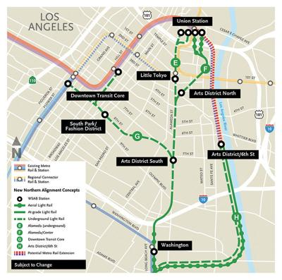 Metro Debates Two Station Options for New Downtown Rail Line | News on