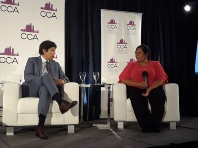 CD14 Hopefuls Kevin de León and Monica Garcia Spar in CCA Candidates Forum