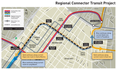 Metro Recommends $927 Million Contract for Regional Connector