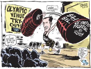Urban Scrawl on L.A.'s Olympics Quest