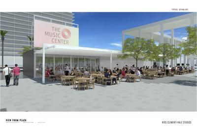 Music Center Plaza food options