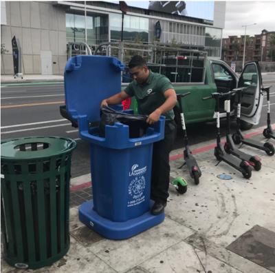 South Park BID Launches Recycling Pilot