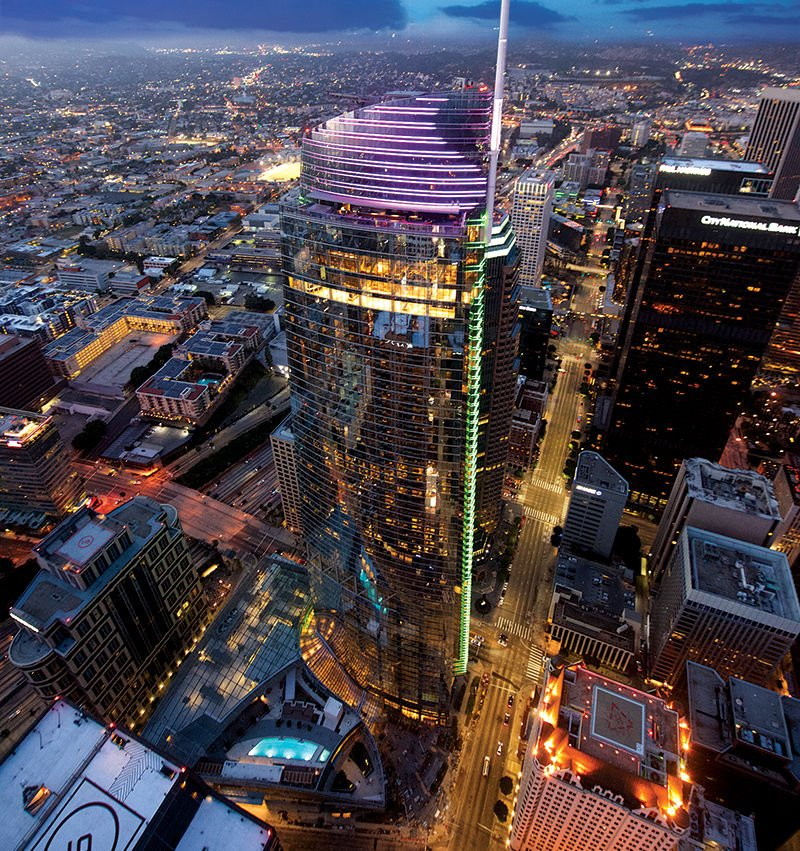 Wilshire Grand Center Named Project of the Year
