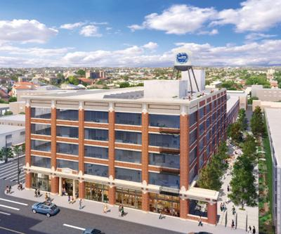 Big Plans for a Huge Arts District Building