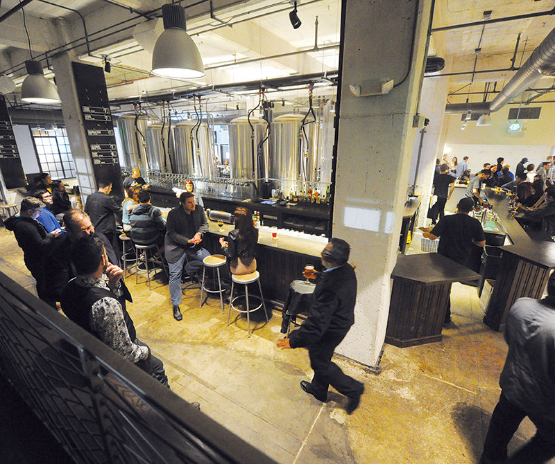 Inside the Arts Districts Huge New Brewpub/Skeeball Joint