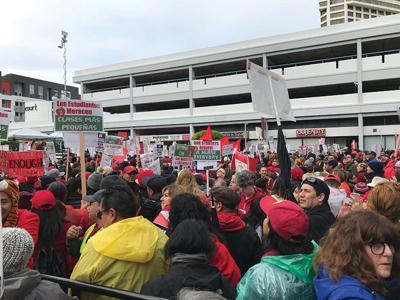 Teachers' Strike Means Lots of Havoc, Lots of Cowbell