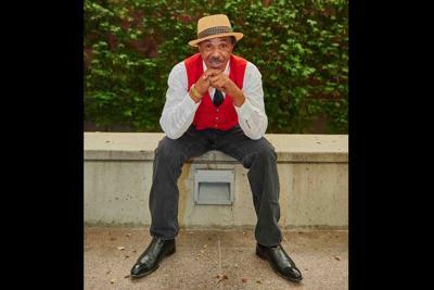 Jazz singer Dante Chambers