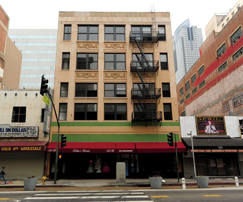 Dead Broadway Building Brought Back to Life