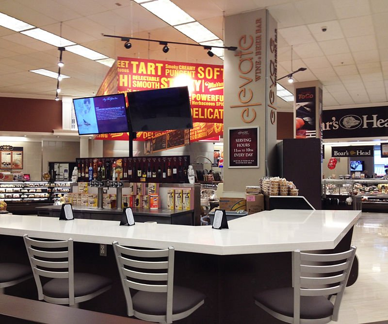 Grocery Stores Los Angeles: Bar Opens In The Ralphs Super Market