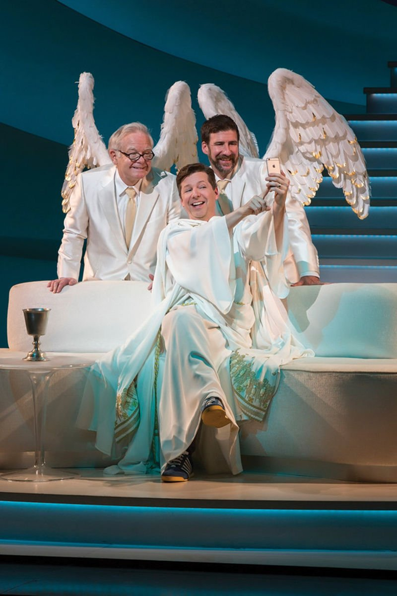 Former 'Daily Show' Writer David Javerbaum Talks About His Play 'An Act of God'