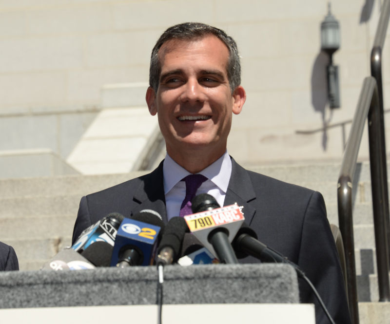 Mayor Eric Garcetti