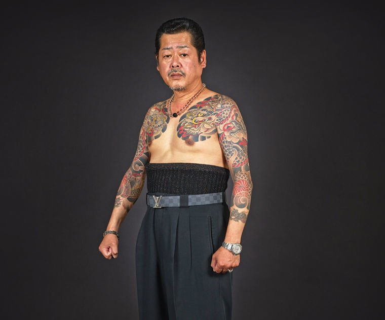 Janm show takes an artful view of tattoos arts and for Japanese tattoo chicago