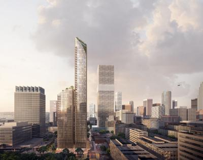 New Plans for 70-Story High-Rise in South Park