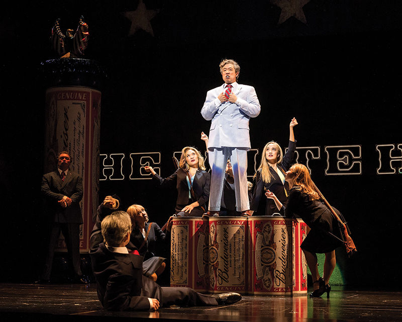 Passion and Politics  in a Musical Hybrid
