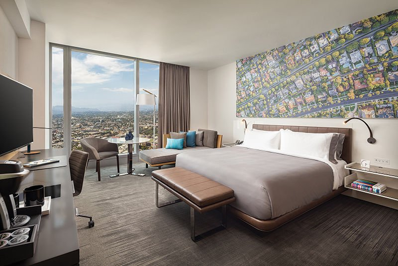 Wilshire Grand Week The 889 Room Hotel Is A Game Changer Development