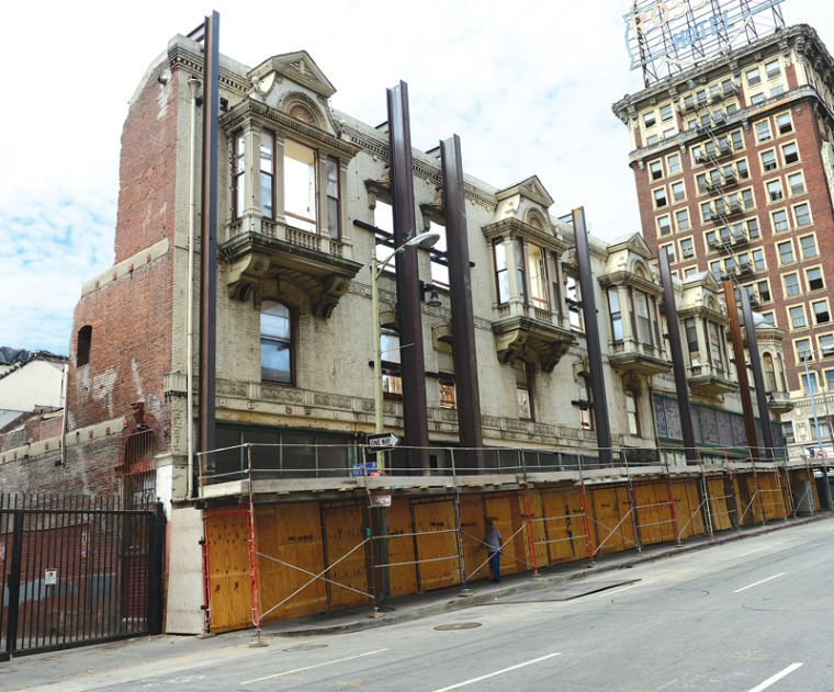at new pershing apartments the past is part of the future