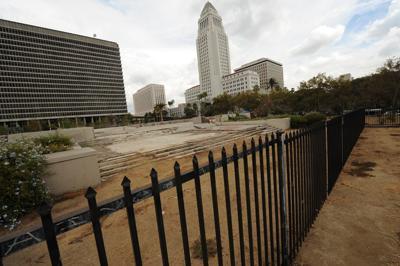 Derelict Civic Center Plot Eyed for Park