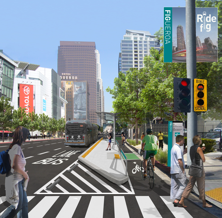 Plan Aims to Make Figueroa More Bike-, Pedestrian Friendly
