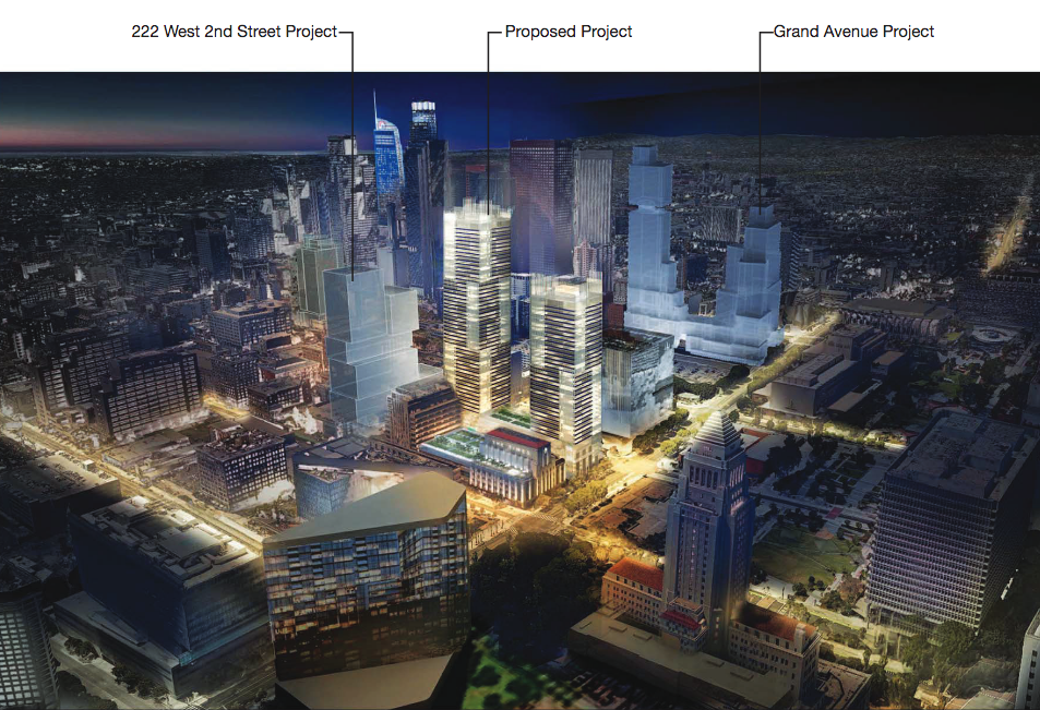 Environmental Study Released for Times Mirror Square Overhaul