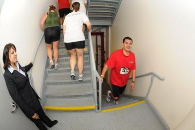 U S Bank Tower Stair Climb Approaching News Ladowntownnews Com