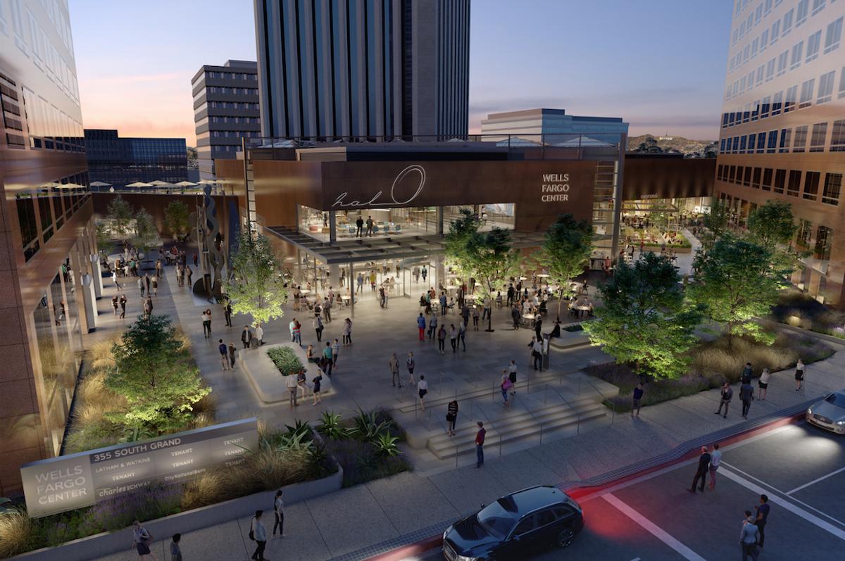 Major Atrium Overhaul at Wells Fargo Center
