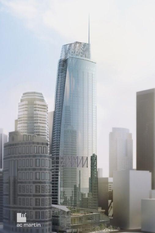 New Wilshire Grand Design Unveiled