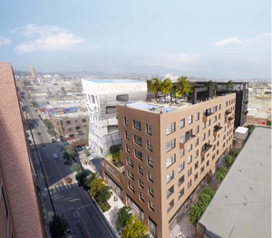 Designs Revealed for Two Arts District Projects