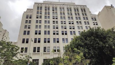 Spring Street's Art Deco Trust Building Receives Modern Creative Office Overhaul