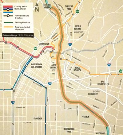 Metro Explores $365 Million Riverside Bike Path