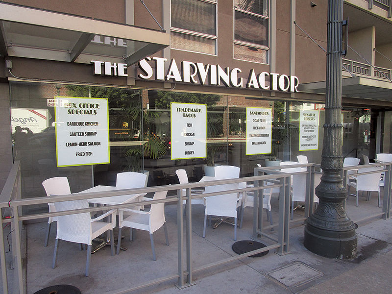 The Starving Actor Restaurant