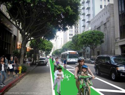 Spring Street Bike Lane