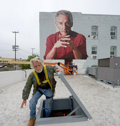 Community Celebration Saturday for Twitchell's New 'Ed Ruscha Monument'
