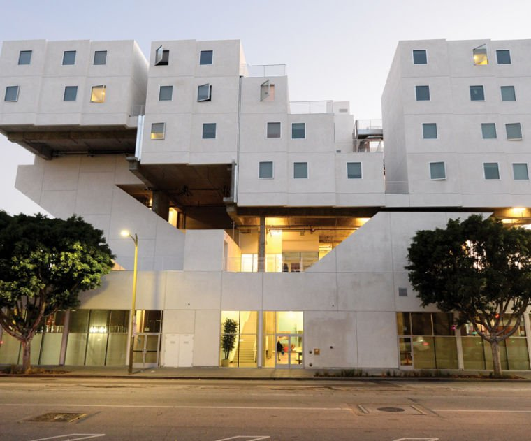 With Star Apartments, Skid Row Gets a Stunning Housing ...