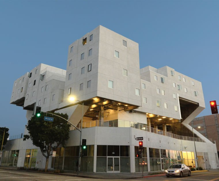 With star apartments skid row gets a stunning housing for Model apartments los angeles