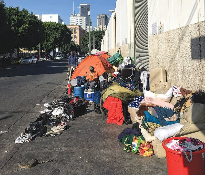 Homelessness Soars by 12% in County, 16% in City