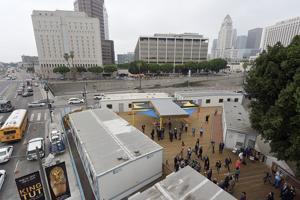 Downtown Homeless Housing Facilities Move Forward
