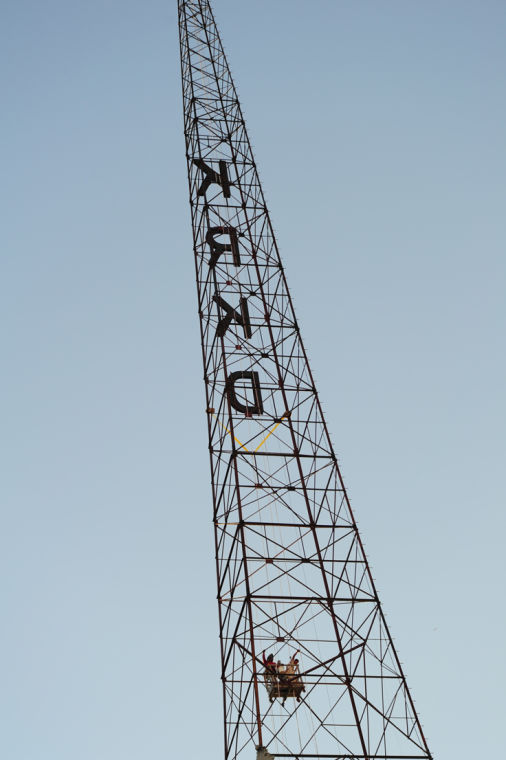 Historic Core Radio Towers Get Makeover News